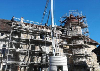 Restauration pierre Mollard Deltour