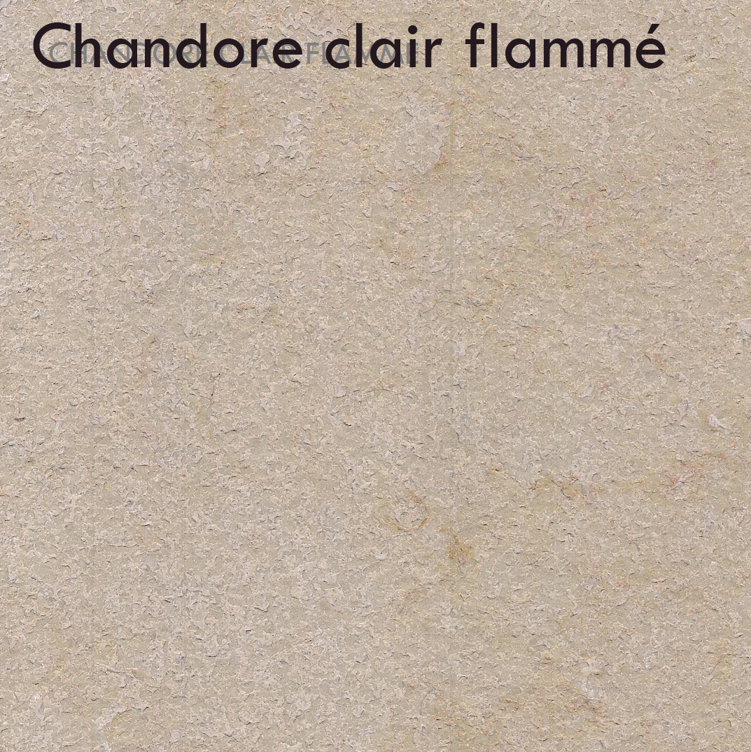 Chandoré clair flammé