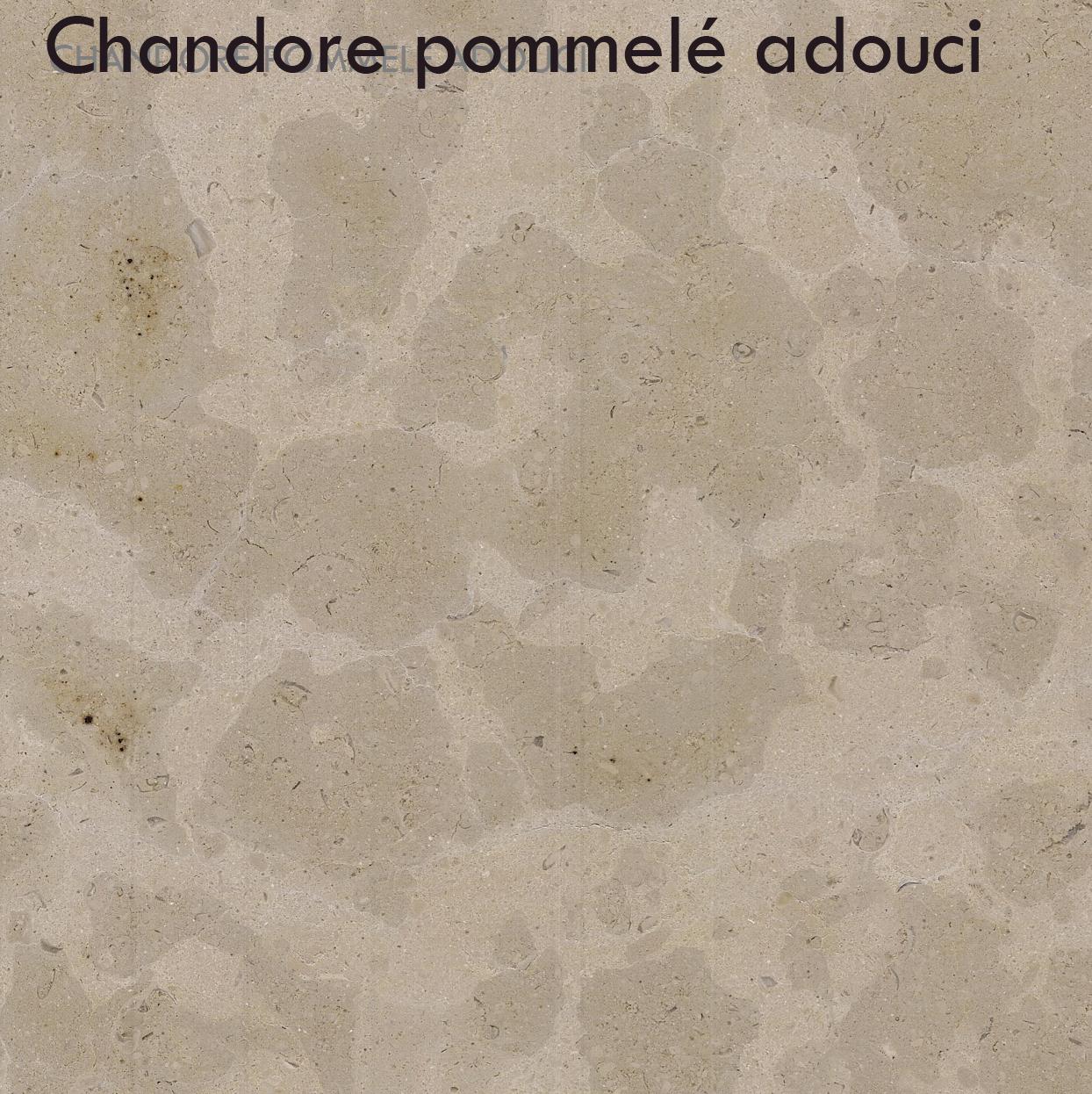 Chandoré pommelé adouci