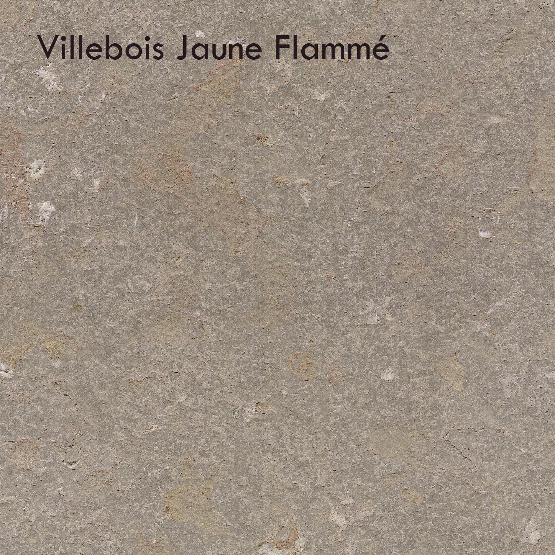 Villebois jaune flammé