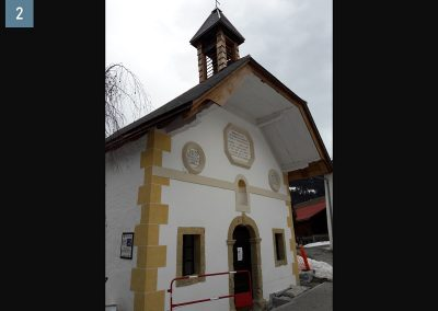 Chapelle des Plans Saint Gervais les Bains 74