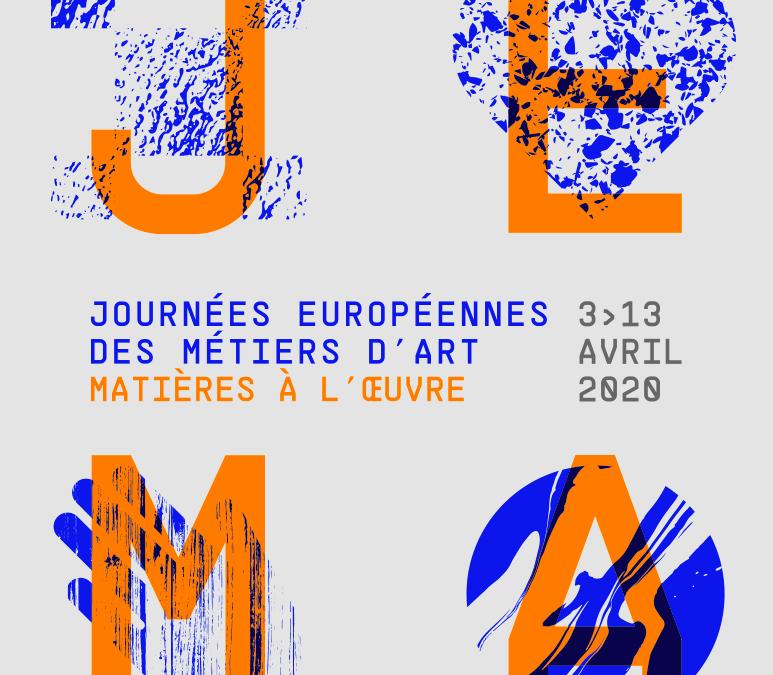 Participez au Journées Européennes des Métiers d'Arts